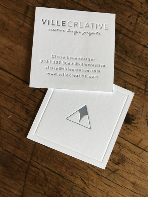 Letterpress printing seagull press business cards reheart Image collections